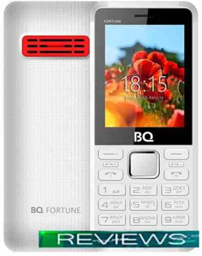 BQ-Mobile BQ-2436 Fortune Power (белый/красный)