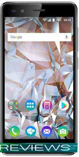 BQ-Mobile BQ-5054 Crystal (черный)