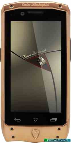 Tonino Lamborghini Antares Rose Gold/Brown