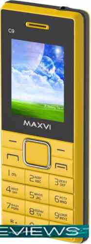 Maxvi C9 Yellow