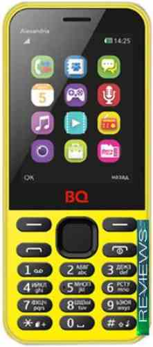 BQ-Mobile Alexandria Yellow BQM-2800