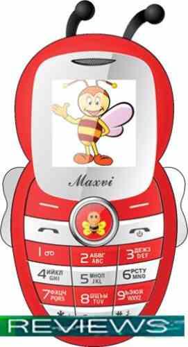Мобильный телефон Maxvi J8 Red