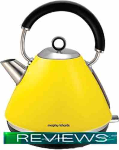 Morphy Richards Accents Traditional Kettle Sage Yellow (102025)