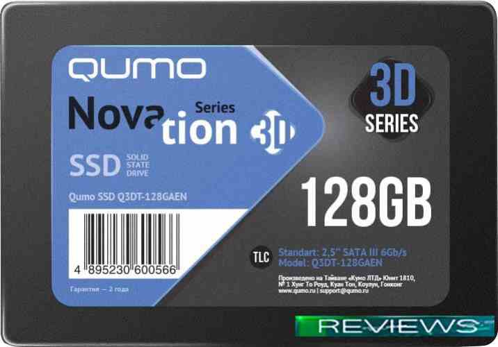 QUMO Novation 3D TLC 128GB Q3DT-128GAEN