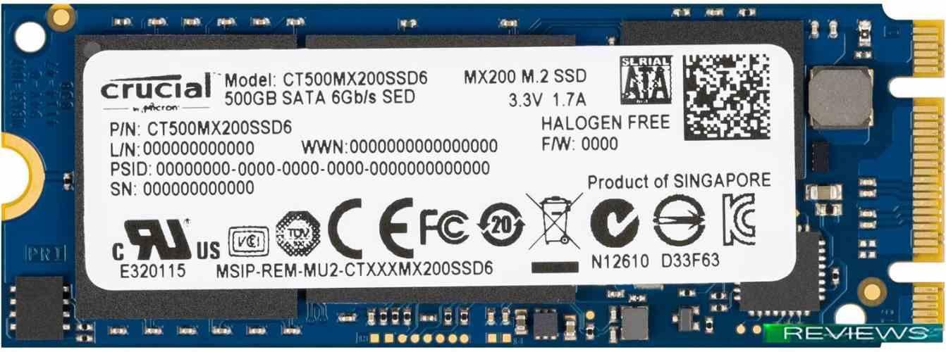 Crucial MX200 500GB (CT500MX200SSD6)