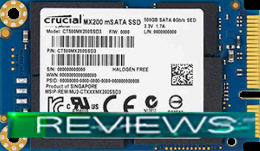 Crucial MX200 500GB (CT500MX200SSD3)