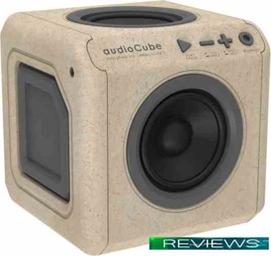 Allocacoc Audiocube Portable (бежевый/серый)