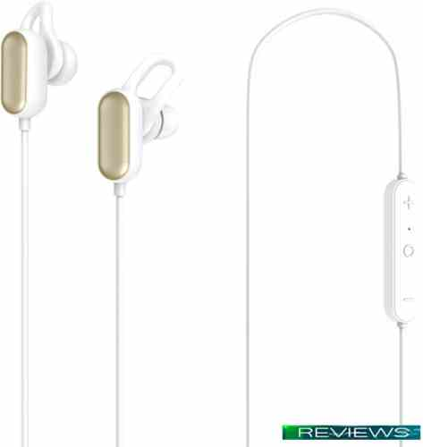 Xiaomi Mi Sports BT Headset Youth Edition YDLYEJ03LM (белый/золотистый)