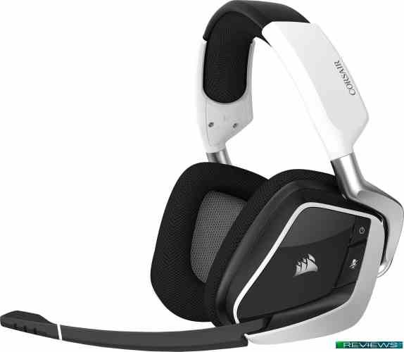 Corsair VOID Pro RGB Wireless (черный/белый)