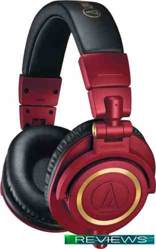 Audio-Technica ATH-M50x Limited Edition (красный)