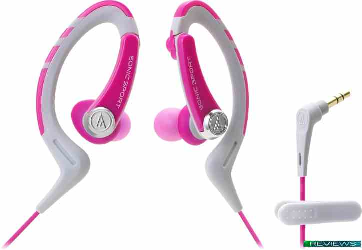 Audio-Technica SonicSport ATH-SPORT1 (розовый)