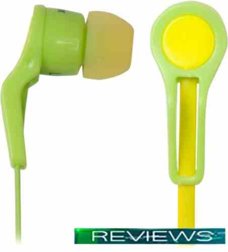 Наушники Ritmix RH-014 Green-Yellow