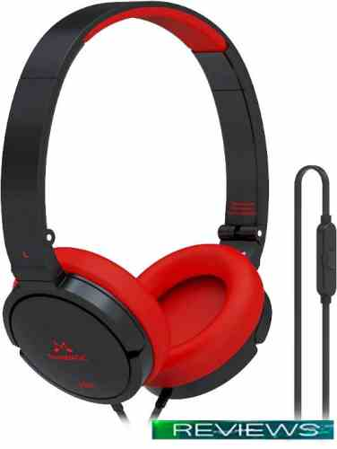 Наушники SoundMagic P21S Black/Red