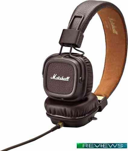 Наушники Marshall Major 2 (коричневый)