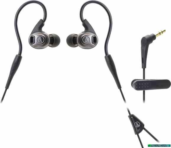 Наушники Audio-Technica ATH-SPORT3 (бронзовый/черный)