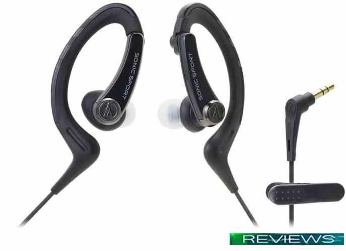 Наушники Audio-Technica SonicSport ATH-SPORT1 (черный)