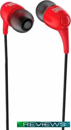 Наушники JBL T100 (красный)