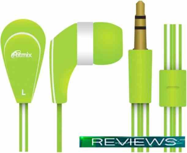 Наушники Ritmix RH-181 (зеленый)