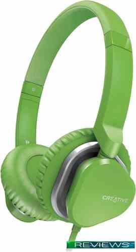 Наушники Creative Hitz MA2400 (зеленый)