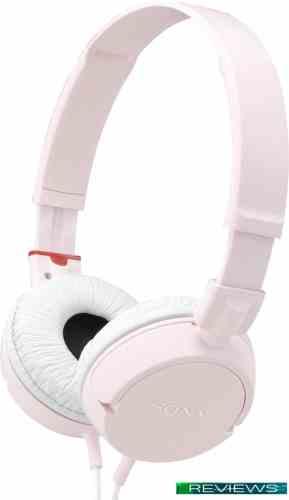 Наушники Sony MDR-ZX100 (розовый/белый)
