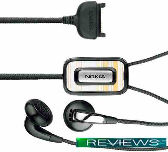 Наушники Nokia Fashion Stereo Headset HS-31